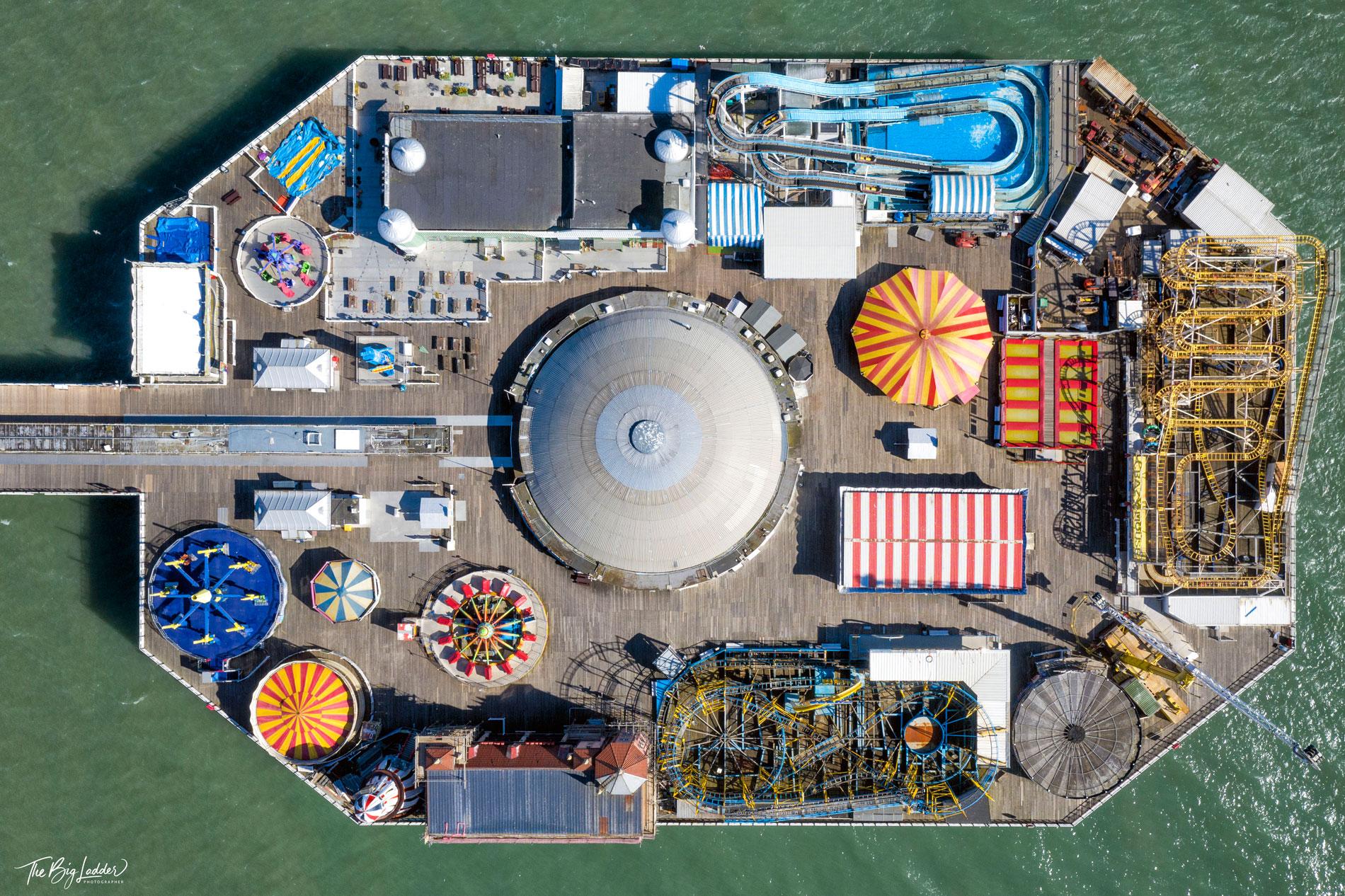 Brighton Pier Under Lockdown