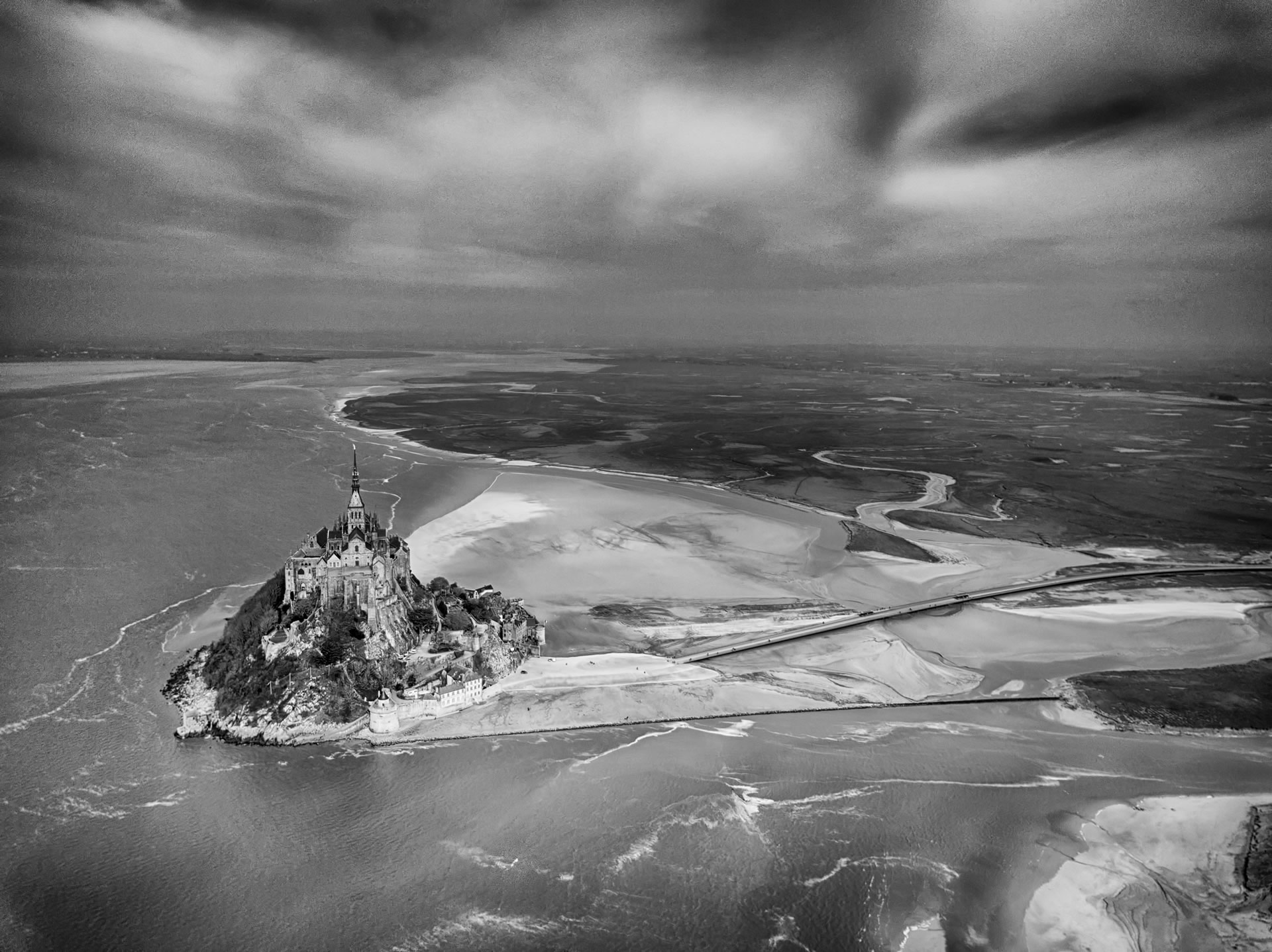 Mont Saint Michel. France