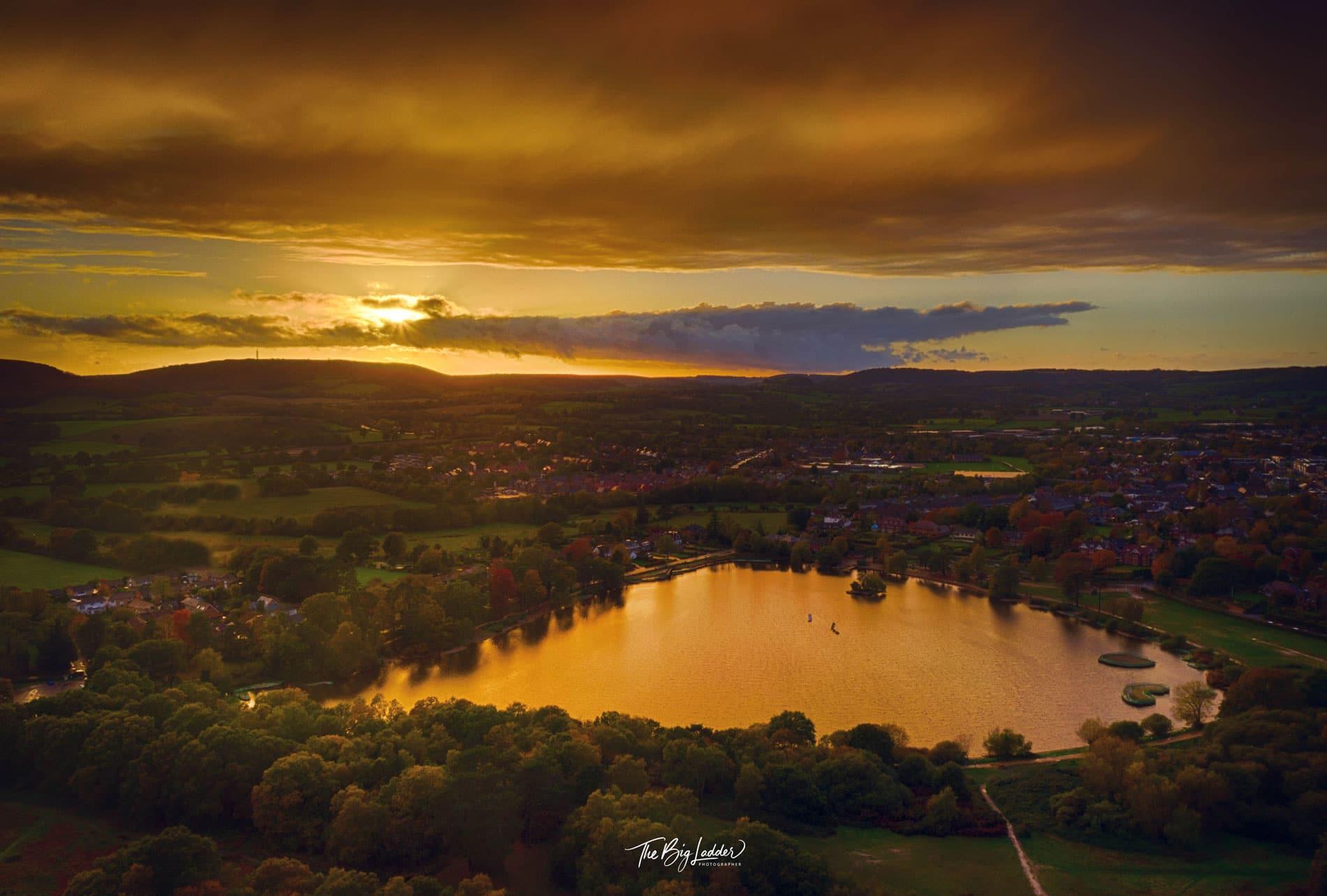 Autumn Sunset Petersfield