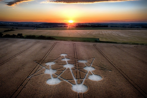 Crop circles, Dorset