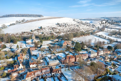 East Meon Snow Jan 2019