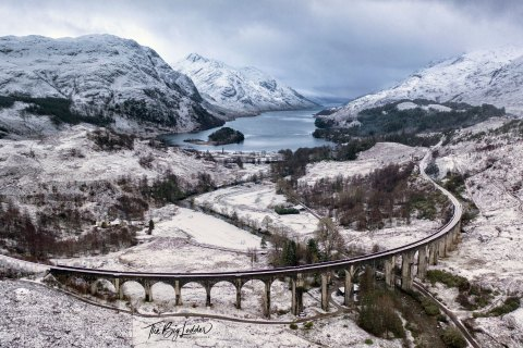 Glenfinnan Viaduct in Snow