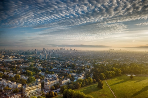 London from Clapham Common