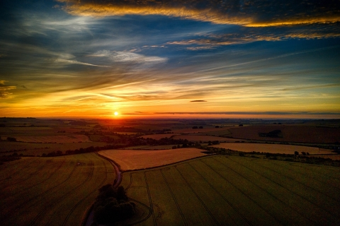 Wiltshire sunset