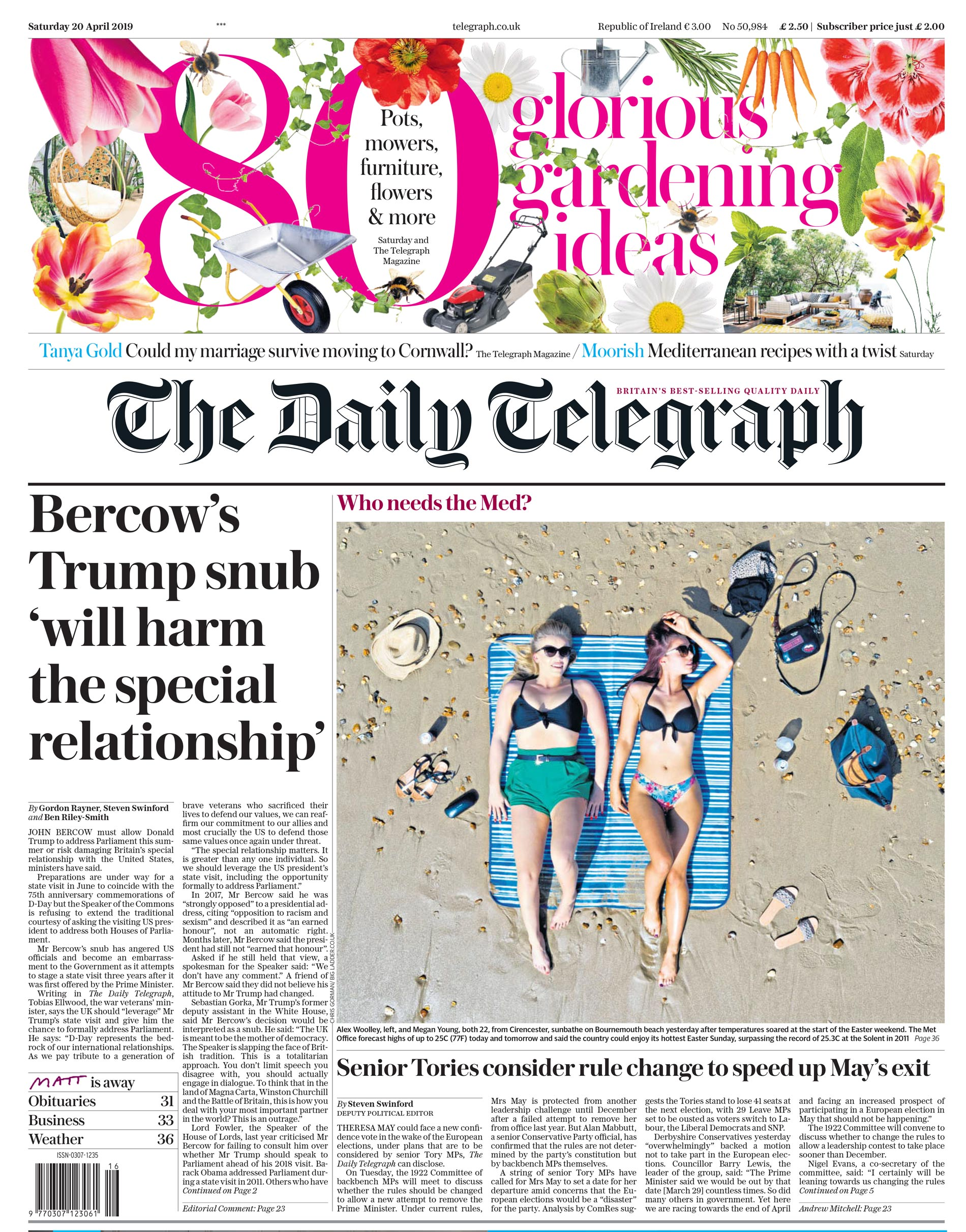 Daily Telegraph 2019