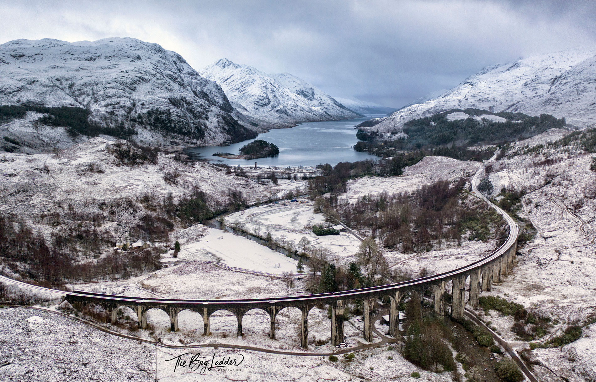 Glenfinnan Viaduct in the Snow  (Click To Purchase)