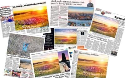 Big Ladder images published in the national press